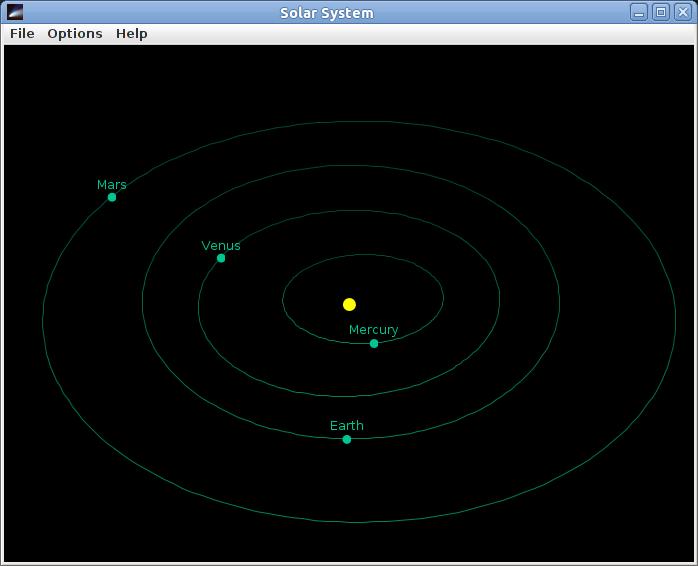 Solar system window